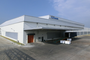 The new spunbond plant in Thailand