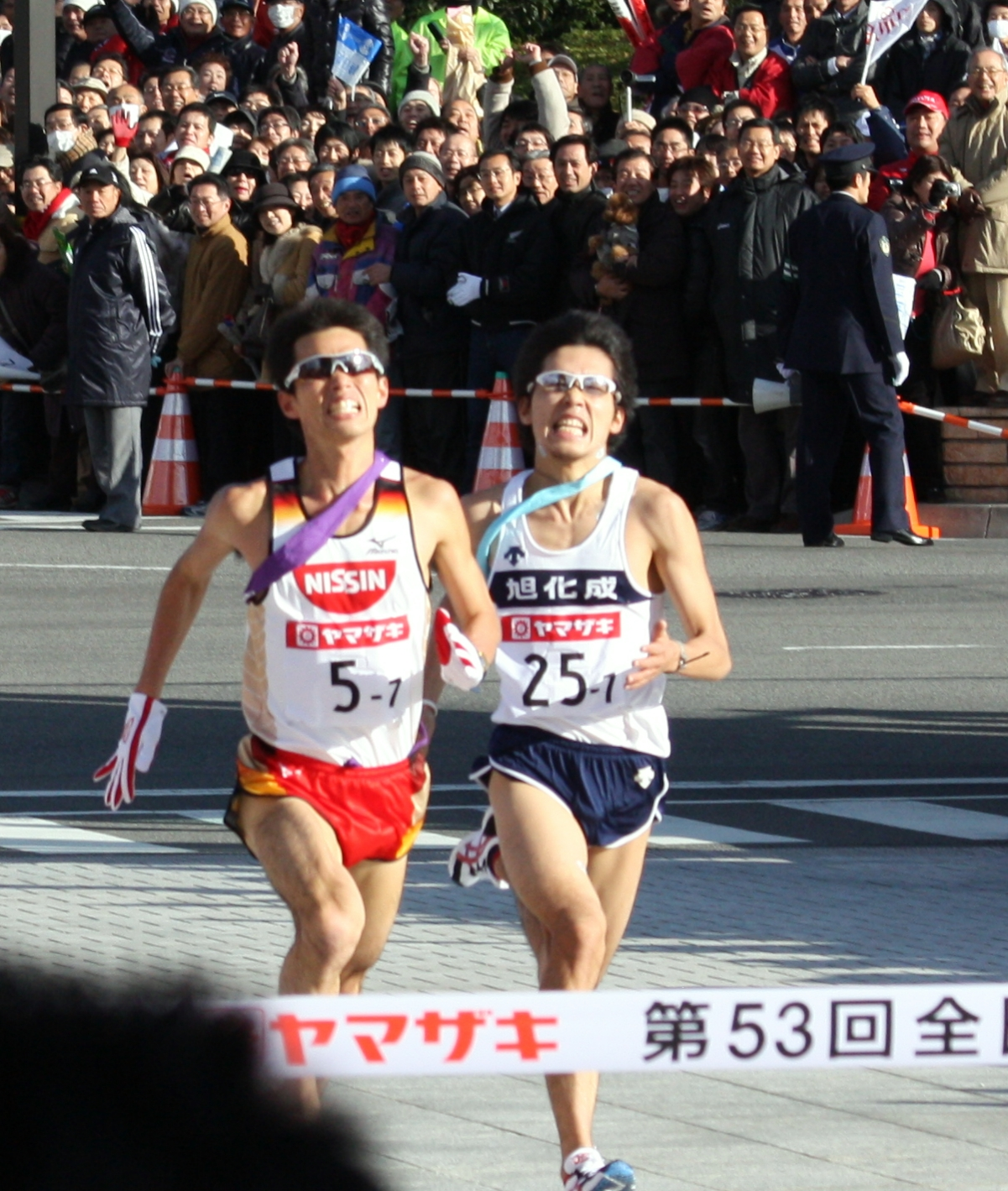 第53回全日本実業団駅伝(ニューイヤー駅伝2009)