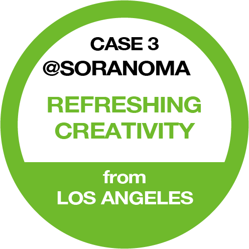 CASE 3 @SORANOMA REFRESHING CREATIVITY