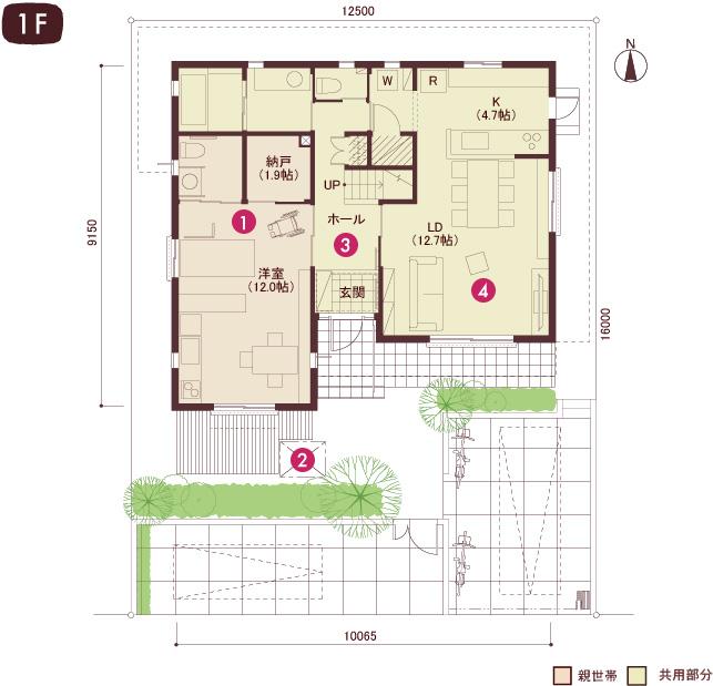 キッチン 車椅子 キッチン : ヘーベルハウスの二世帯住宅 ...