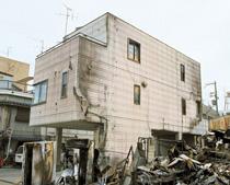 防火壁としての役割を阪神・淡路大震災で実証